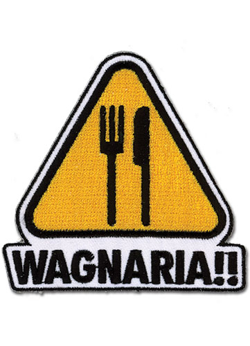Wagnaria Logo Patch, an officially licensed product in our Wagnaria!! Patches department.