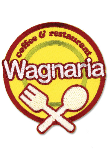 Wagnaria Restaurant Patch, an officially licensed product in our Wagnaria!! Patches department.