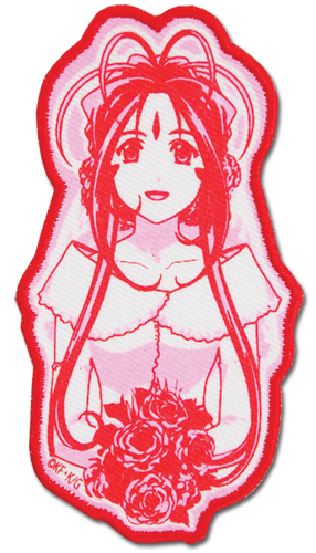 Ah! My Goddess Belldandy Patch officially licensed product at B.A. Toys.