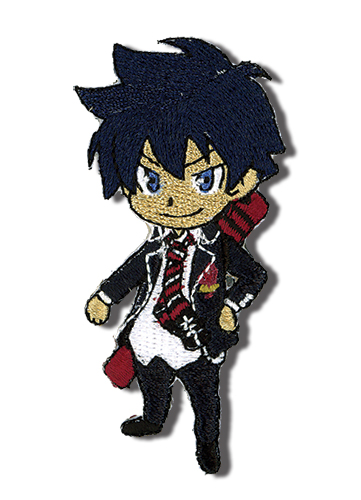 Blue Exorcist Rin Embroidered Patch officially licensed Blue Exorcist Patches product at B.A. Toys.