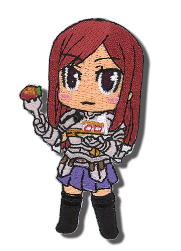 Fairy Tail Erza Patch, an officially licensed product in our Fairy Tail Patches department.