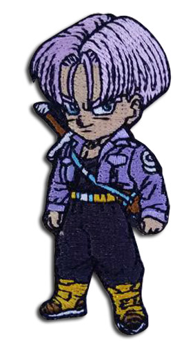 Dragon Ball Z - Sd Trunks Embroidered Patch, an officially licensed product in our Dragon Ball Z Patches department.