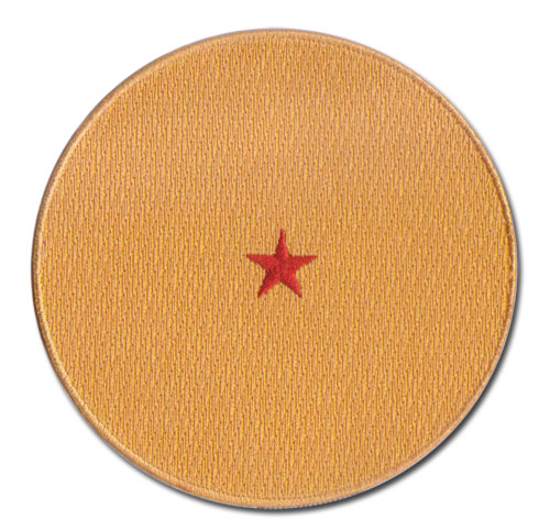 Dragon Ball Z - 1-Star Dragonball Patch, an officially licensed product in our Dragon Ball Z Patches department.