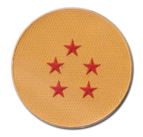 Dragon Ball Z - 5-Star Dragon Ball Patch, an officially licensed product in our Dragon Ball Z Patches department.