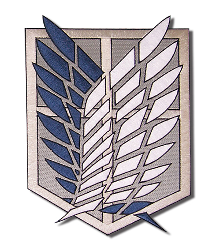 Attack On Titan - Scout Regiment Large Patch, an officially licensed Attack on Titan Patch