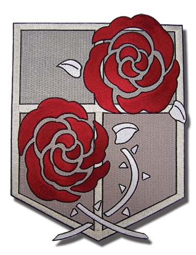 Attack On Titan - Garrison Regiment Large Patch, an officially licensed Attack On Titan product at B.A. Toys.