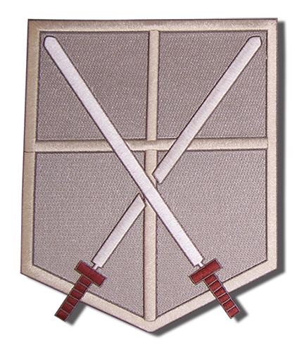 Attack On Titan - Cadet Coprs Large Patch, an officially licensed Attack On Titan product at B.A. Toys.