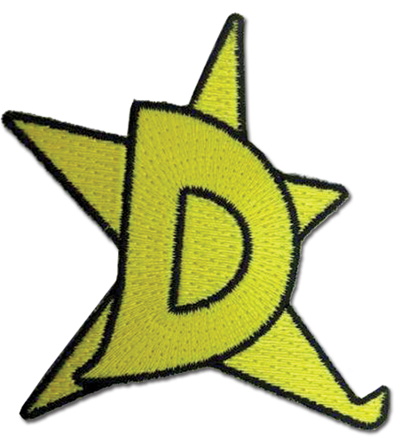 Space Dandy - D-Star Patch, an officially licensed product in our Space Dandy Patches department.