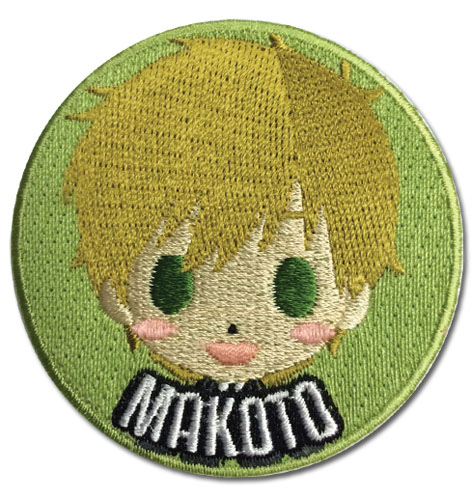 Free! - Makoto Sd Patch, an officially licensed product in our Free! Patches department.
