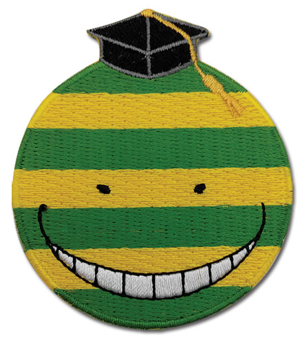 Assassination Classroom - Mockery Koro Sensei Patch, an officially licensed Assassination Classroom product at B.A. Toys.