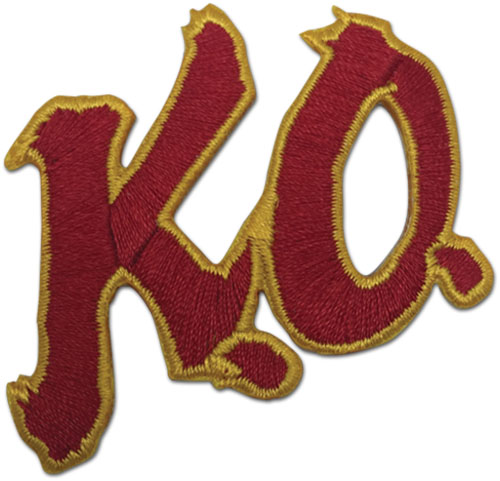 Street Fighter V - K.O. Patch, an officially licensed product in our Street Fighter Patches department.
