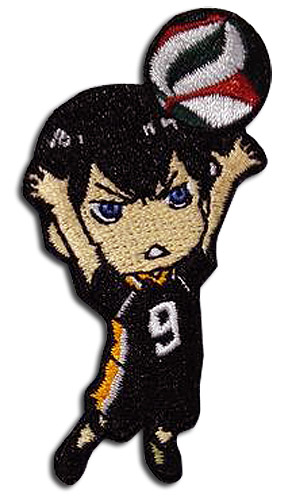 Haikyu!! - Tobio Patch, an officially licensed product in our Haikyu!! Patches department.