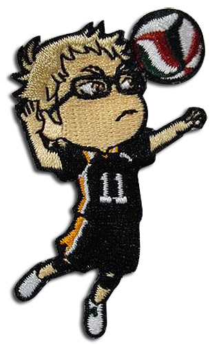 Haikyu!! - Kei Patch, an officially licensed product in our Haikyu!! Patches department.