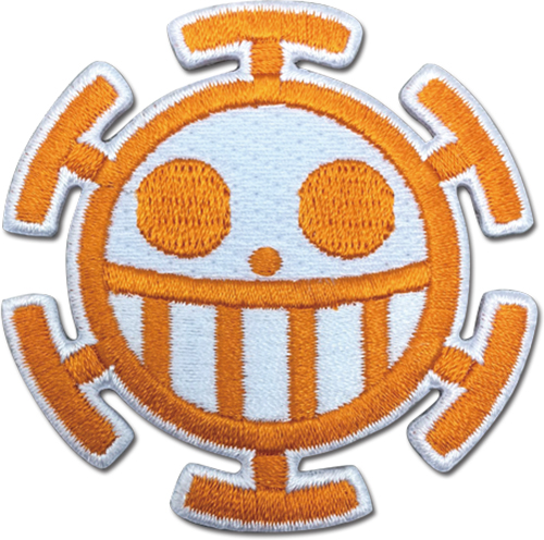 One Piece - Pirates Of Heart Patch officially licensed One Piece Patches product at B.A. Toys.