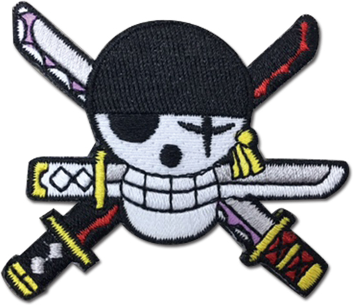 One Piece - Zoro New World Skull Patch, an officially licensed product in our One Piece Patches department.