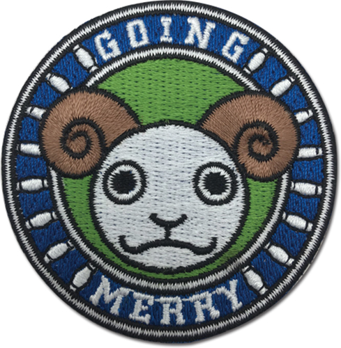One Piece - Merry Patch officially licensed One Piece Patches product at B.A. Toys.