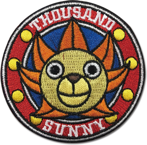 One Piece - Sunny Patch, an officially licensed product in our One Piece Patches department.