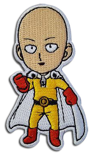 One Punch Man - Saitama Patch, an officially licensed product in our One-Punch Man Patches department.
