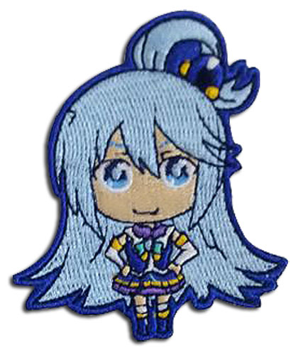 Konosuba - Aqua Patch, an officially licensed product in our Konosuba Patches department.