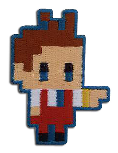 Ace Attorney - Apollo Pixel Art Patch, an officially licensed Ace Attorney product at B.A. Toys.