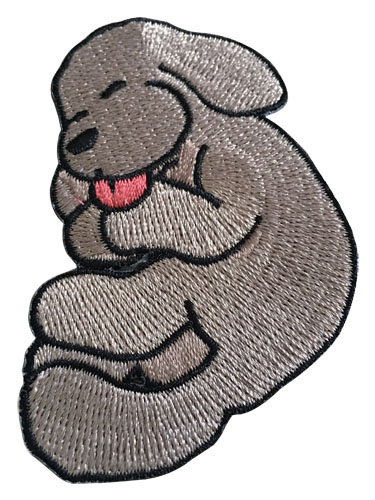 Yuri On Ice!!! - Sd Makkachin Sleeping Patch, an officially licensed product in our Yuri!!! On Ice Pins & Badges department.