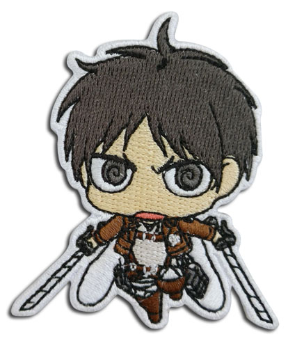 Attack On Titan S2 - Eren Sd Patch officially licensed Attack On Titan Patches product at B.A. Toys.
