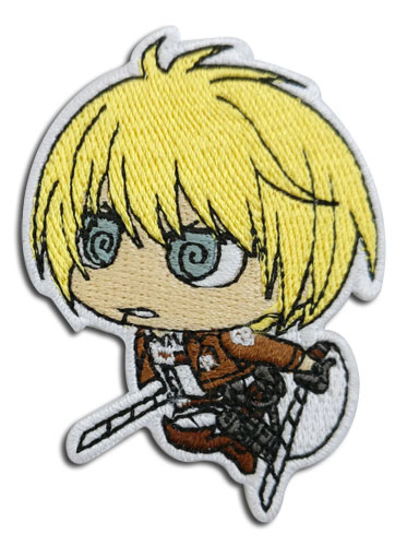 Attack On Titan - Armin Sd Patch officially licensed Attack On Titan Patches product at B.A. Toys.