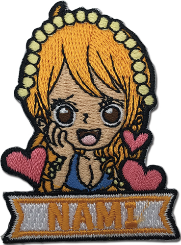 One Piece - Nami Sd Patch, an officially licensed product in our One Piece Patches department.
