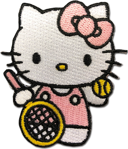 Hello Kitty - Hello Kitty 01 Patch, an officially licensed product in our Hello Kitty Patches department.
