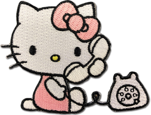 Hello Kitty - Hello Kitty 02 Patch, an officially licensed product in our Hello Kitty Patches department.