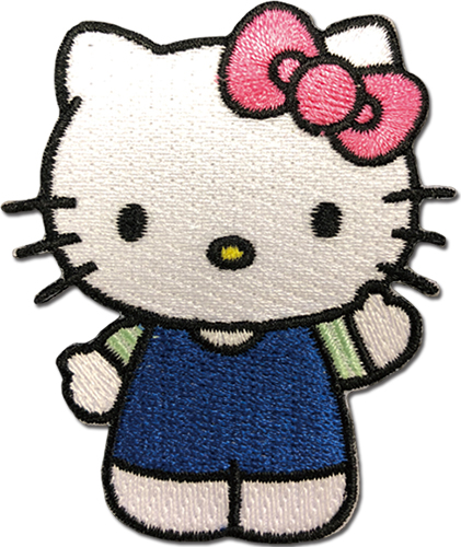 Hello Kitty - Hello Kitty 04 Patch, an officially licensed product in our Hello Kitty Patches department.