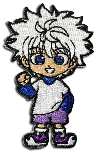 Hunter X Hunter - Kirua Patch officially licensed Hunter X Hunter Patches product at B.A. Toys.