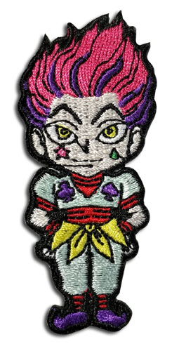 Hunter X Hunter - Hisoka Patch officially licensed Hunter X Hunter Patches product at B.A. Toys.