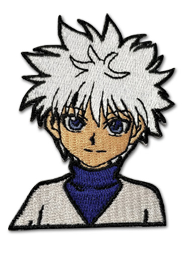Hunter X Hunter - Kirua Embroidered Patch officially licensed Hunter X Hunter Patches product at B.A. Toys.