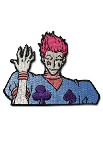 Hunter X Hunter - Hisoka Patch officially licensed Hunter X Hunter Pins & Badges product at B.A. Toys.