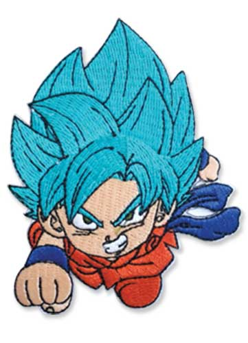 Dragon Ball Super - Ssgss Goku Patch 3.5