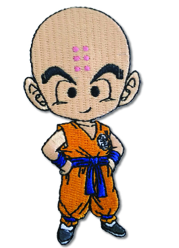 Dragon Ball Super - Krillin Patch, an officially licensed product in our Dragon Ball Super Patches department.