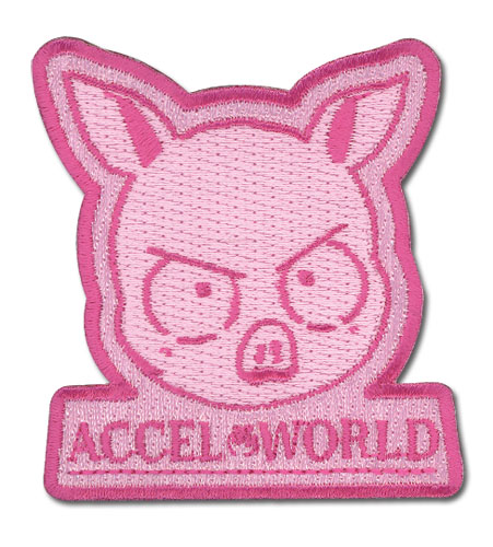 Accel World - Haru Virtual Character Patch, an officially licensed Accel World product at B.A. Toys.