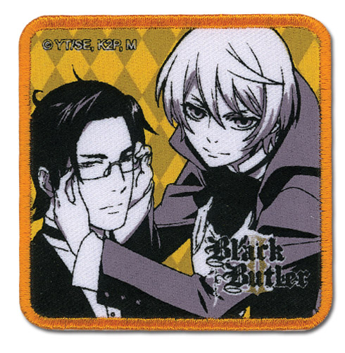 Black Butler 2 - Aloise & Claude Patch, an officially licensed Black Butler product at B.A. Toys.