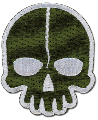 Black Rock Shooter - Dead Master Icon Patch, an officially licensed Black Rock Shooter Patch