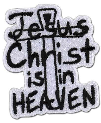 Hellsing Ultimate - Jesus In Heaven Patch, an officially licensed product in our Hellsing Patches department.