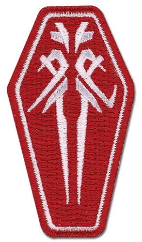Guilty Crown Funeral Parlor Icon Patch, an officially licensed product in our Guilty Crown Patches department.