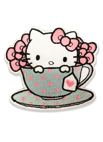 Hello Kitty - Hello Kitty Is My Cup Of Tea Patch, an officially licensed product in our Hello Kitty Patches department.