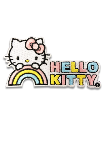 Hello Kitty - Hello Kitty Rainbow Patch, an officially licensed product in our Hello Kitty Patches department.