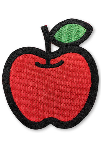 Hello Kitty - Apple Patch, an officially licensed product in our Hello Kitty Patches department.