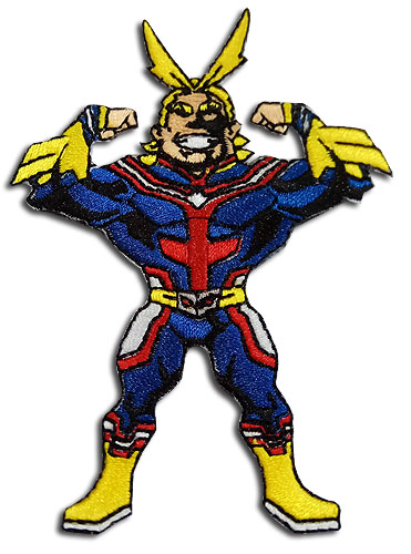 My Hero Academia - Sd All Might Patch, an officially licensed product in our My Hero Academia Patches department.