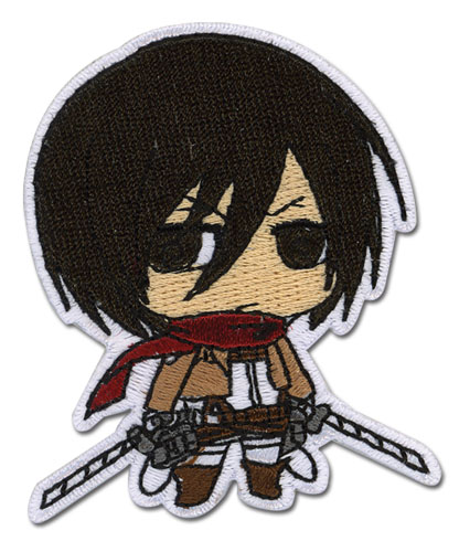 Attack On Titan - Mikasa Patch, an officially licensed Attack on Titan Patch