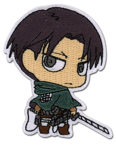 Attack On Titan - Levi Sd Patch, an officially licensed Attack On Titan product at B.A. Toys.