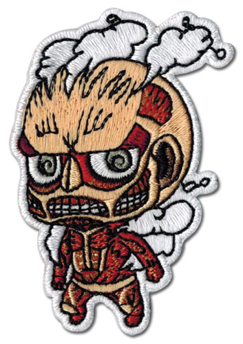 Attack On Titan - Titan Sd Patch, an officially licensed product in our Attack On Titan Patches department.
