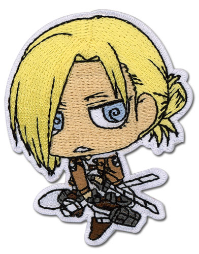 Attack On Titan - Annie Sd Patch, an officially licensed Attack On Titan product at B.A. Toys.